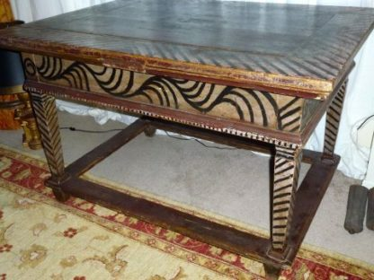Northern Italian pine extendable table.